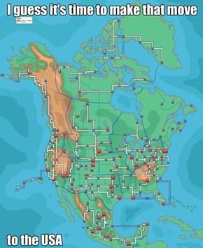 America - The Perfect Region