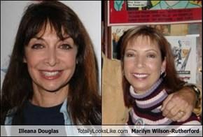 Illeana Douglas  Totally Looks Like Marilyn Wilson-Rutherford