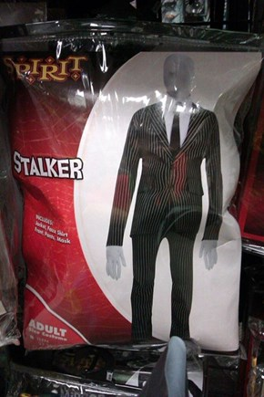 """Stalker"" Man Looks Awfully Slender"