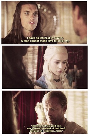 Jorah Mormont, Lord of Friendzone