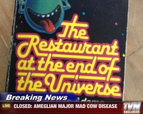 Breaking News -  CLOSED: AMEGLIAN MAJOR MAD COW DISEASE
