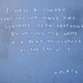 Plato Was a Genius