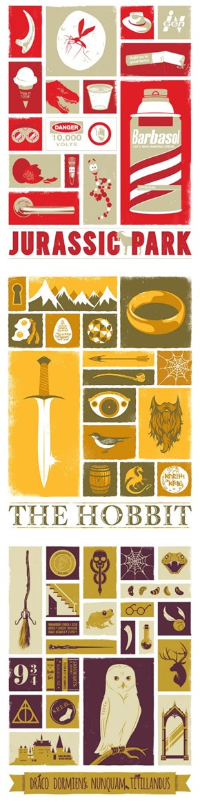 Movie Objects in Poster Form