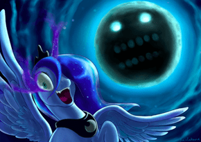 When Luna Stumbles Upon the Majora's Mask Universe
