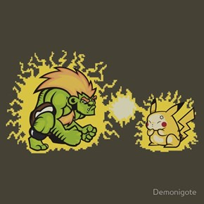 Blanka! Use Thunderbolt!