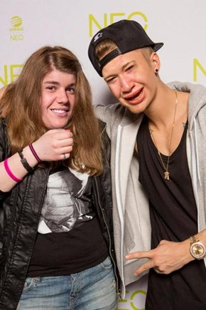 Justin Bieber Loves Meeting Himself