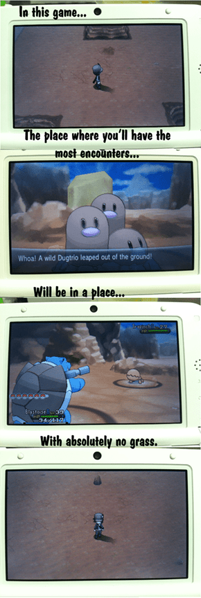 Too Many Encounters at Route 13!