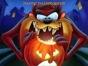 Taz sayz to have a happeh Halloween
