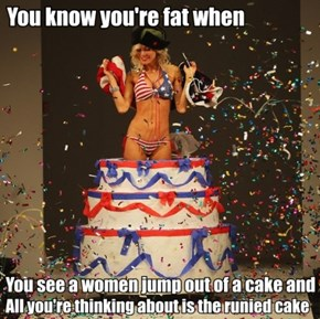 If Only it Was an Ice Cream Cake