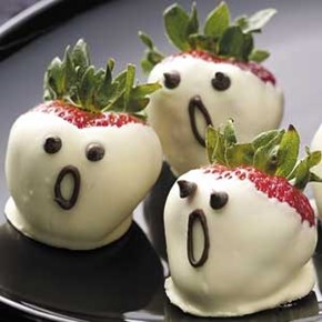 Shocked Strawberry Ghosts!