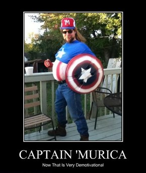 "A Real ""Murican"" Hero"