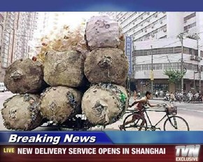 Breaking News - NEW DELIVERY SERVICE OPENS IN SHANGHAI