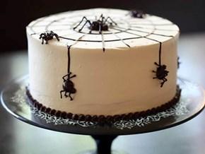 Spooky Spider Cake!