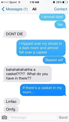 Laundry Casket?