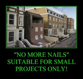 """NO MORE NAILS"" SUITABLE FOR SMALL PROJECTS ONLY!"