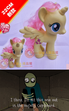 Fluttershy's My New Alicorn