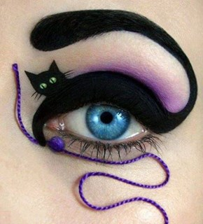 Keep the Black Cats Close With This Cool Kitty Inspired Make Up