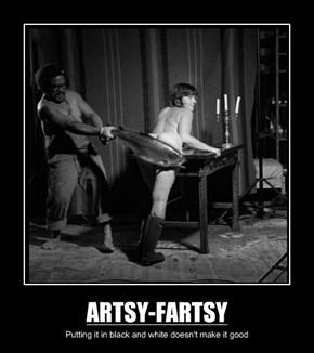 ARTSY-FARTSY