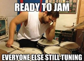 First World Drummer Problems