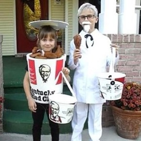 On the Bright Side, Your Childhood Halloween Costumes Probably Weren't This