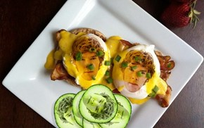 eggs Benedict cuCumberbatch