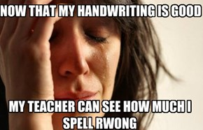 First World School Problems