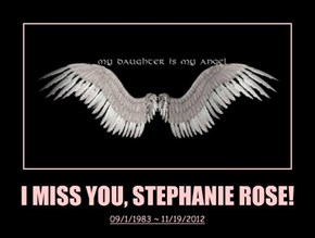 I MISS YOU, STEPHANIE ROSE!