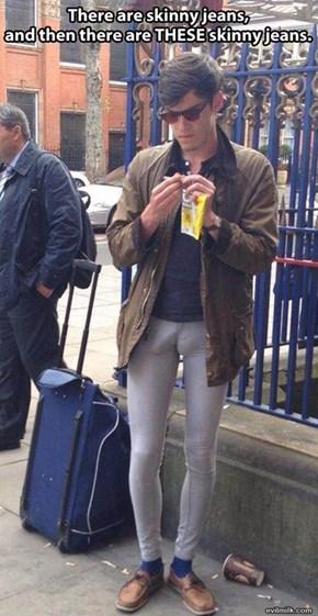 The Best Reason Men Shouldn't Wear Jeggings
