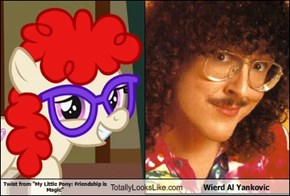 "Twist from ""My Little Pony: Friendship is Magic"" Totally Looks Like Wierd Al Yankovic"