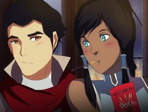 Would Korra be a Pocky Fan?