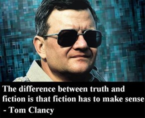 Farewell of the Day: Tom Clancy Passes Away