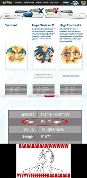 Mega Charizard X revealed!