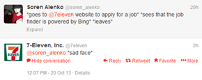 Corporate Sadness: Powered by Bing