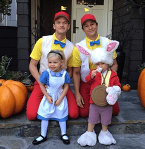 NPH and David Burtka's Family Halloween Costume Theme is Alice in Wonderland!