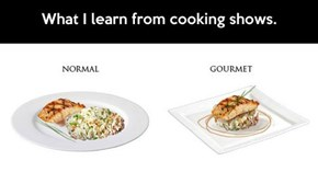 Cooking Shows in a Nutshell
