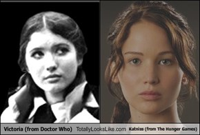 Victoria (from Doctor Who) Totally Looks Like Katniss (from The Hunger Games)
