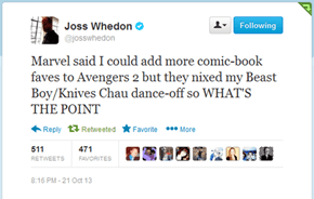 Joss Whedon: Bringing Universes Together
