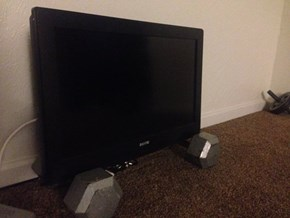 Heavy-Duty TV Stand