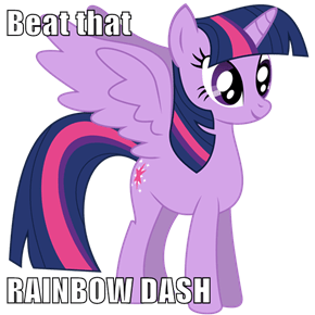 Beat that  RAINBOW DASH