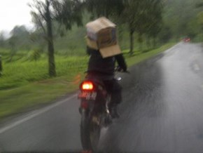 No Time For Using (Real) Helmet !