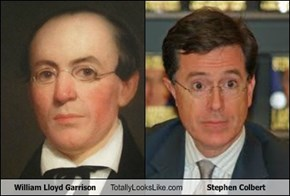 William Lloyd Garrison Totally Looks Like Stephen Colbert