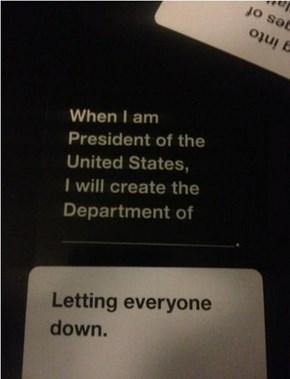 """Cards Against Humanity"" Gets too Real"