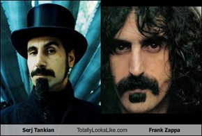Serj Tankian Totally Looks Like Frank Zappa
