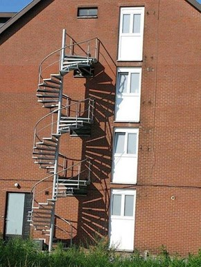 Don't Worry, There's an Emergency Staircase