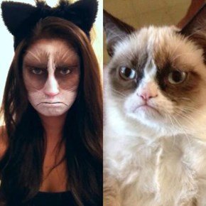 Grumpy Catwoman