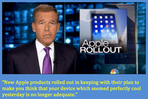 Brian Williams Understands Apple
