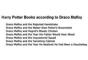 What If Harry Potter Wasn't the Main Character?