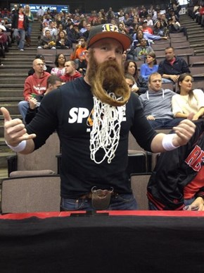 Get a Dunk on the Sweetest Beard You'll See This Week