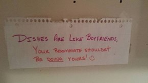 This is the Wisest Passive-Aggressive Note of the Week