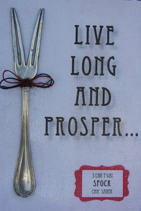 What I Really Need is a Spock Spork